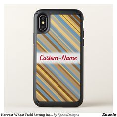 Purchase a new Striped case for your iPhone! Shop through thousands of designs for the iPhone iPhone 11 Pro, iPhone 11 Pro Max and all the previous models! Cool Phone Cases, Iphone Case Covers, Wheat Fields, Red Gifts, Red Fashion, Stripes Design, Iphone 11, Harvest, Red Style
