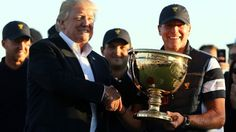 Trump dedicates trophy to hurricane victims.. Yeah! Nothing says we really care about you in Puerto Rico like a f*ckin gold golf 🏆 trophy..😂