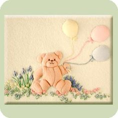 Balloon Bear Applique and Embroidery Kit (copyright Jan Kerton) is available from Australian Needle Arts. To view the full range please visit http://www.australianneedlearts.com.au/applique-blankets-jan-kerton?page=1