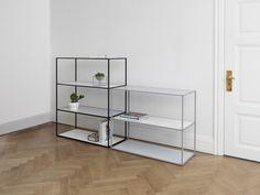 Twin Bookcase by by Lassen