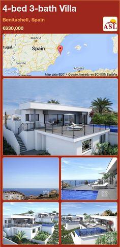 4-bed 3-bath Villa in Benitachell, Spain ►€630,000 #PropertyForSaleInSpain