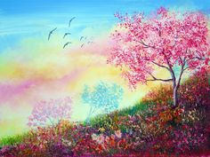 Blossom Skies