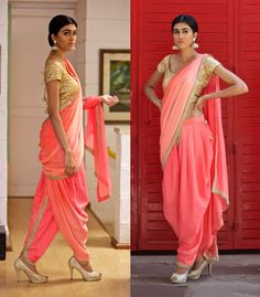 Neha Kukreja Draped Dhoti Saree                                                                                                                                                                                 More