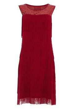 Pin for Later: Perfect Flapper Dresses to Suit All Body Shapes d Roman Originals Fringed Sequin Flapper Dress (£75)