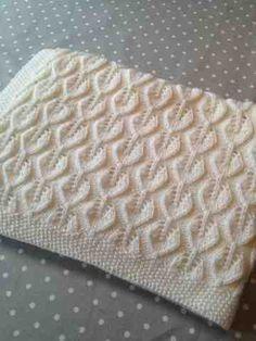 ispinner og andre strikkepinner: Bella Babyteppe