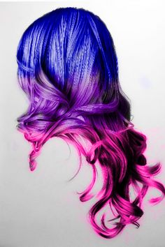 Edit. I've had these colors in this order in my hair