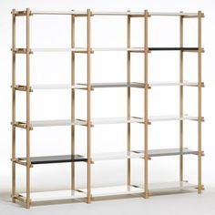 "Inexpensive ""Woody"" shelf unit from A+R. Can be configured in LOTS of ways."
