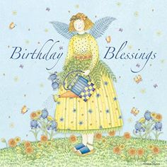 Art by Debbie Mumm Birthday Cheers, Birthday Blessings, Happy Birthday Wishes, Birthday Greetings, Birthday Clips, Art Birthday, It's Your Birthday, Birthday Ideas, Vintage Birthday Cards