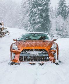 Nissan: December has arrived, but we're not complaining. Gtr Nissan, Nissan Gtr Skyline, Porsche Gtr, Top Cars, Latest Cars, Japanese Cars, Sexy Cars, Mclaren P1, Amazing Cars
