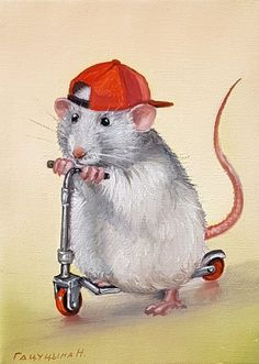 Pet Mice, Pet Rats, Maus Illustration, Animal Pictures, Cute Pictures, Regard Animal, Mouse Crafts, Forest Creatures, Hamster