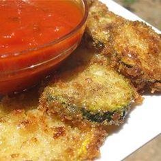 Low Carb Zucchini Pancakes Recipe - Allrecipes.com