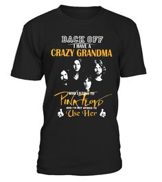 Crazy Grandma Who Listens To Pink Floyd  #gift #idea #shirt #image #music #guitar #sing #art #mugs