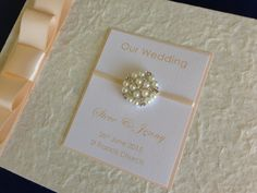 Personalised Wedding Album / Guest Album   £17.99 available from:    https://folksy.com/shops/AnyOccasion