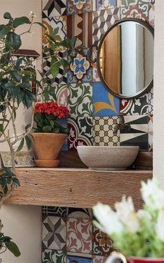 Фотография: Декор в стиле Кантри, Декор интерьера, Текстиль, Декор дома, Пэчворк, идеи для интерьера, пэчворк в интерьере – фото на InMyRoom.ru
