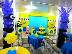 Minios #despicable me#DECORATION #BALLOON