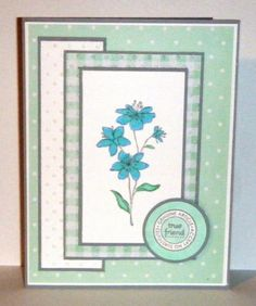SC498 WT489 Genuine Article by sue28 - Cards and Paper Crafts at Splitcoaststampers