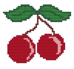 Cherries  Counted Cross Stitch pattern