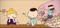 Ferieafløser på Wulffmorgenthalerstriben: StineStregen