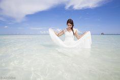Wedding photo shooting at Isla Mujeres ウエディング フォトセッション イスラムヘーレス AkiDemi Photography  www.akidemi.com