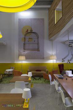 Workspace coffee shop