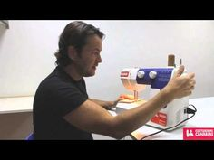 Prensatelas maquina de coser - YouTube