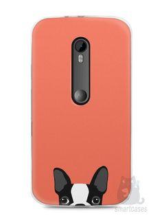 Capa Moto G3 Cachorro Bulldog Francês #1 - SmartCases - Acessórios para celulares e tablets :)
