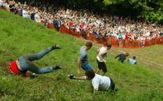 cheese rolling competition Gloucester UK