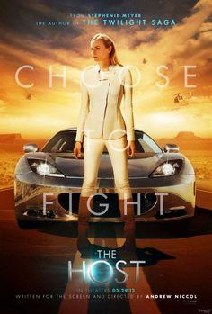 Nuevo poster para #TheHost de Stephenie Meyer