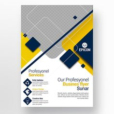 Business Flyer Templates, Flyer Design Templates, Layout Template, Booklet Design, Graphic Design Flyer, Brochure Design, Web Design, Design Layouts, Business Icon