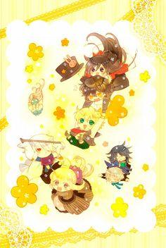Jun Mochizuki, Xebec, Pandora Hearts, Pandora Hearts ~there is~, Leo Baskerville