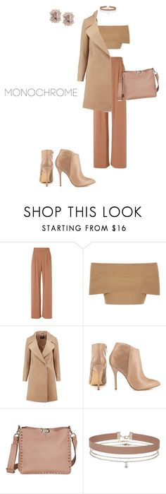 """""""Monochrome but not"""" by outfitealtredipendenze ❤ liked on Polyvore featuring Fleur du Mal, Blue Vanilla, Boohoo, Steve Madden and Miss Selfridge"""