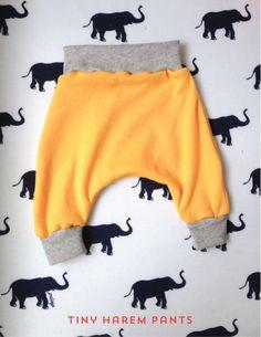 tiny harem pants sewing pattern
