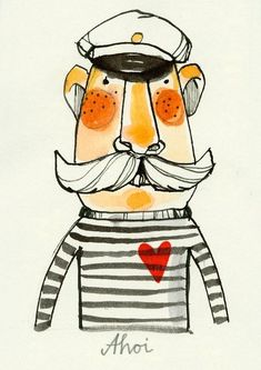 Sailors illustrations