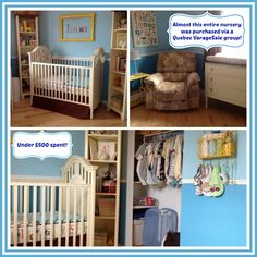 almost this entire nursery plus items not shown was purchased from a
