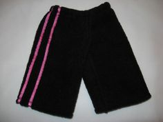 Free Basic Doll Pants Pattern for American Girl Doll Clothes