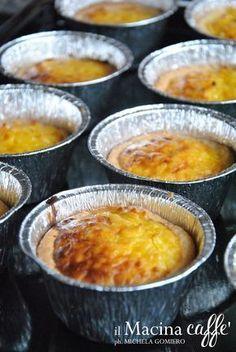 Italian Pastries, Italian Desserts, Mini Desserts, Italian Recipes, Bakery Recipes, Cooking Recipes, Flan, Mousse Dessert, Traditional Cakes