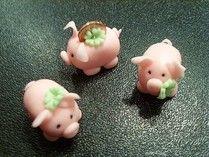 Neujahr-Schweinchen - suessekunst jimdo page!