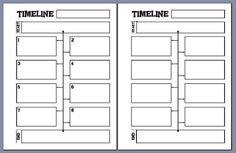Free Timeline notebooking sheets- download at The Notebooking Fairy