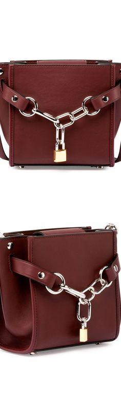 Alexander Wang Attica Mini Chain Shoulder Bag, Beet
