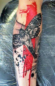 Insect Tattoo by U Gene | Tattoo No. 12456