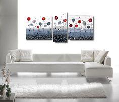 Quadri astratti moderni dipinti a mano su tela | Pinterest ...