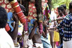 "typical ""vel festival"" in Jaffna, close to Kilinochchi"