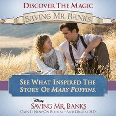 """""""Mary Poppins was a real person?"""" - Tom Hanks as Walt Disney"""