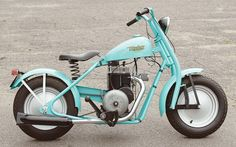 The Magnificent Mustang Motorcycles - Classic American Motorcycles - Motorcycle Classics Moped Bike, Mini Motorbike, Cruiser Bicycle, Retro Scooter, Scooter Custom, Custom Bikes, Ford Mustang Car, Small Motorcycles, Cars Motorcycles