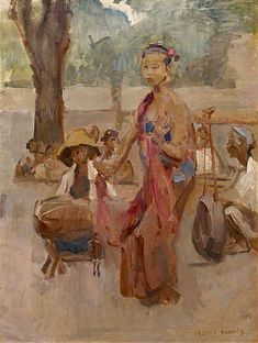 Isaac Israëls - Penari Jawa - Javanese dancer