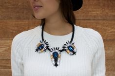 Make Your Own: DIY Statement Necklace