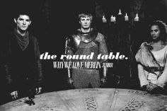 why we love merlin<<< this was my favorite episode because of the knights and when I saw the round table for the first time i cried