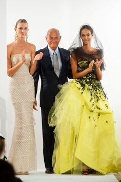 "Oscar de la Renta Spring 2014 - Oscar de la Renta ""Fashion is about dressing according to what's fashionable. Style is more about being yourself."