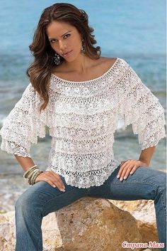 Beautiful crochet top ♥
