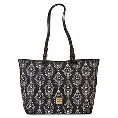 Disney Dooney and Bourke Bag - Haunted Jack Skellington - Tote.  Merry Christmas to me from my dear hubby